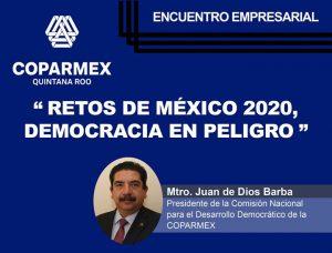 """Read more about the article """"Retos de México 2020, democracia en peligro"""""""